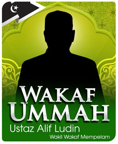 ejen-wakaf-ummah-ustaz-alif-ludin-wakil-Wakaf-mempelam