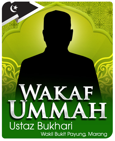 ejen-wakaf-ummah-ustaz-bukhari-wakil-Marang