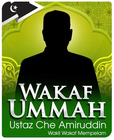 ejen-wakaf-ummah-ustaz-che-amiruddin-wakil-wakaf-mempelam