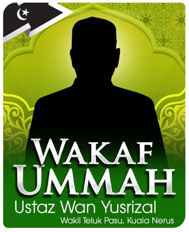 ejen-wakaf-ummah-ustaz-wan-yusrizal-wakil-teluk-pasu-kuala-nerus